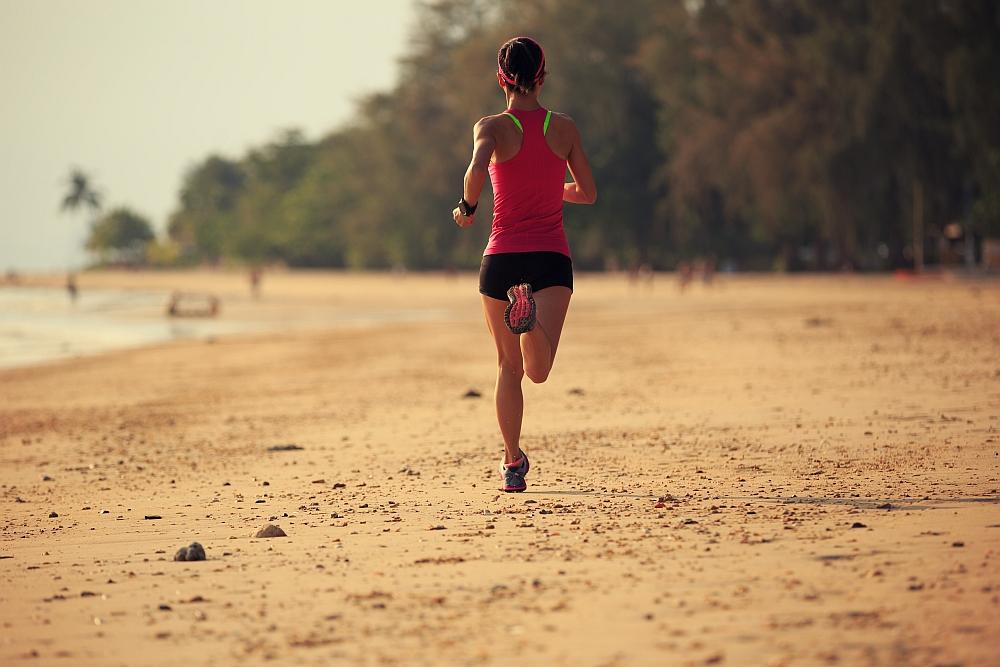 Bieganie po piasku